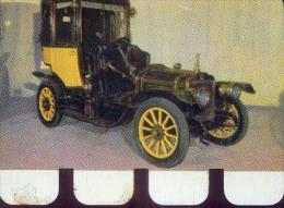 � BRAZIER 1908 �  Plaquette m�tallique r�alis�e par le chocolat COOP  (1964)