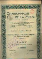 VILLERS-LE-BOUILLET � Charbonnages de la Meuse� SA