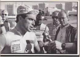 Cyclisme - Départ Tour France 1985 - à Vannes, Bernard Hinault, Maillot Jaune Prologue De Plumelec - Cycling