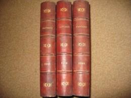FANTASIO .  3 Albums parus en 1909 1910 1911  reliant les n� 59 � 130 . 3 � 6 �me ann�e .