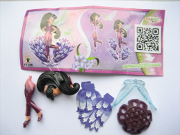 KINDER FF186 + BPZ Neutre Disney Fairies - Monoblocs