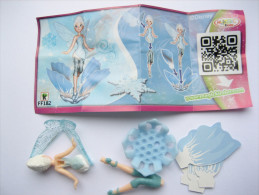 KINDER FF182 ( Grosse écriture ) + BPZ Neutre Disney Fairies - Monoblocs