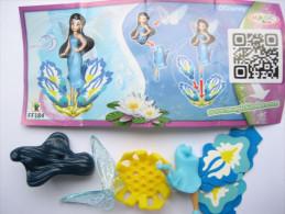 KINDER FF184 ( Grosse écriture ) + BPZ Neutre Disney Fairies - Monoblocs