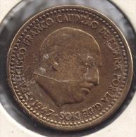 ESPANA 1 PESETA 1947 (49) FRANCO - [ 4] 1939-1947 : Governo Nazionale
