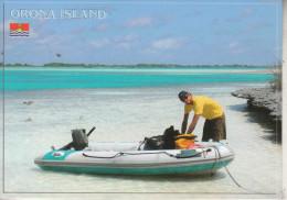 KIRIBATI -ORONA/Hull/Island- Lagoon Bateau - Un Lieu Ydillique - Kiribati