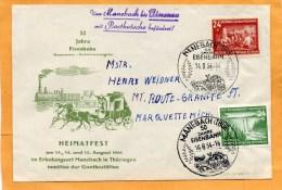 DDR 1954 FDC - DDR
