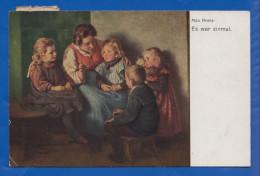 Malerei; Max Arenz; Es War Einmal; 1919 - Other Illustrators