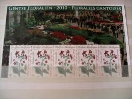 Floralies Gantoises, Timbres Floraux - Belgium