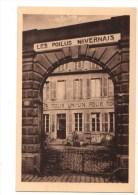 58----NEVERS---LES POILUS NIVERNAIS---l'entrée--voir 2 Scans - Nevers