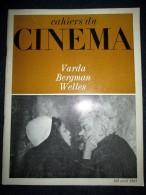 """CAHIERS Du CINEMA"" #165 Kino Movie Orson WELLES / Agnès VARDA / Ingmar BERGMAN Avr. 1965 - Cinema"