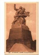 C P A---51----EN CHAMPAGNE----NAVARIN---le Groupe Du Monument--voir 2 Scans - France