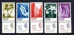 Israel - 1970 - Nature Reserves - MH - Neufs (avec Tabs)