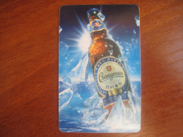 Beer. Slavutych. Ukraine. 2003  UKRTELECOM. Prepaid Phonecard. - Ukraine
