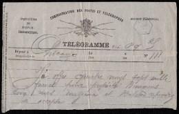 RRRRR -  1884 TELEGRAMME CHICAGO > ZELE  - OFFRE SUR PROPRIETE BAUWENS  ( Berlare By Gent ) - Télégraphes