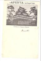 Santé-Publicité-1901-Apenta-Budapest-Le Purgatif Idéal-Eau Purgative Naturelle-CPA Japon-Château De Nagoya-Précurseur - Salute