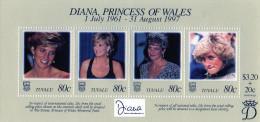L - 1997 Tuvalu - Diana - Pricipessa Del Galles - Tuvalu