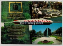 Allemagne, Friedrichshafen, Carte Multivue, Zeppelin, écrite - Friedrichshafen