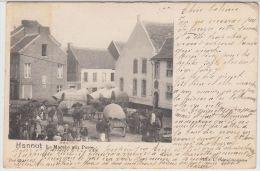 23617g MARCHE Aux PORCS - Hannut - 1901 - Hannuit