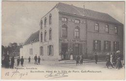 23624g HOTEL De La VILLE De PARIS - Vve. FORBISEUR - CAFE - RESTAURANT - Saventhem - 1903 - Zaventem