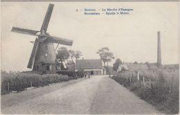 23634g SPANJE'S MOLEN - MOULIN D'ESPAGNE - Roulers - 1911 - Roeselare