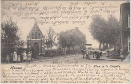 23689g CHARRETTE à CHEVAL - PLACE De La CHAPELLE - Hannut - 1905 - Hannuit
