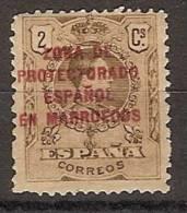 Marruecos 058 * Alfonso XII. 1916 - Marruecos Español
