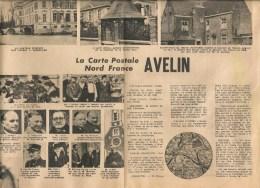 HISTOIRE D  AVELIN  UNE PAGE DE LA REVUE NORD FRANCE ENTRE 1949 ET 1952. - Documents Historiques
