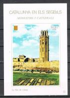 Hojita Catalunya En Els Segells. LA SEO De LLEIDA  200 Pts ** - Variedades & Curiosidades