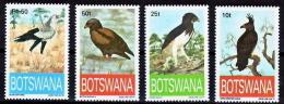 BIRDS - BOTSWANA - 1993 -ENDANGERED EAGLES  -4 V.  MNH - - Vogels