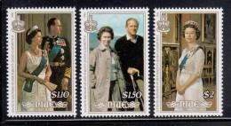 Niue MNH Scott #510-#512 Set Of 3 Queen Elizabeth II's 60th Birthday - Niue