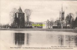 CPA  ENGHIEN PARC LA CHAPELLE ET L'ANCIENNE RESIDENCE DU DUC D'ARENBERG - Enghien - Edingen