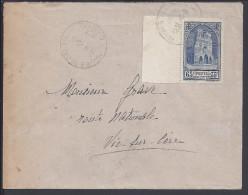 FR - 1938 - CANTAL - LETTRE DE MAURS DU CANTAL A DESTINATION DE VIC-SUR-CERE - - Poststempel (Briefe)
