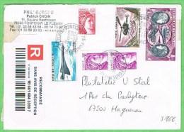 Recommandé Fontenay Le Fleury 24.8.2009 - Postmark Collection (Covers)