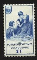Erinnophilie : Bienfaisance  Des PTT Vignette De Guerre Neuve ** - Commemorative Labels