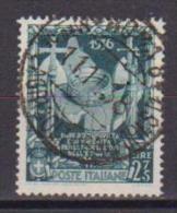 REGNO D'ITALIA   1938   PROCLAMAZIONE DELL'IMPERO    SASS. 447   USATO     VF - 1900-44 Vittorio Emanuele III