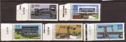 DDR , 1988 , Mi.Nr. 3203 - 3207 ** / MNH - Ungebraucht