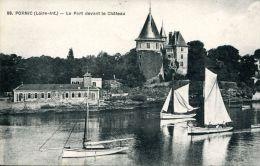 N°41717 -cpa Pornic -le Port Davant Le Château- - Pornic