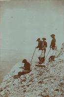 Photo Hautes Alpes Montagne Reconnaissance Au Pas De L'ours Koch Pierrard Malvi Regiment Des Neiges Militaire - Oud (voor 1900)