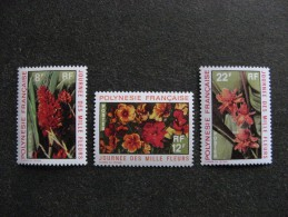 Polynésie: Série N° 83 Au N° 85 ,neufs XX . Cote = 12.80 Euros. - Neufs