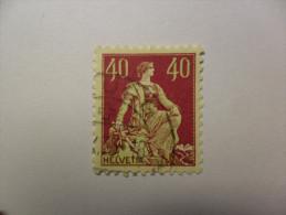 Helvetie Avec épée  1925    Zu 176    Cote 2.50 Frs - Usados