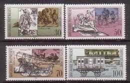 DDR , 1990 , Mi.Nr. 3354 - 3357 ** / MNH - DDR