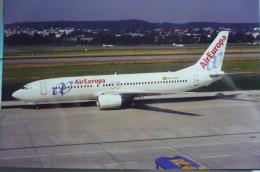 BOEING 737 400  AIR EUROPA   EC HGO - 1946-....: Moderne
