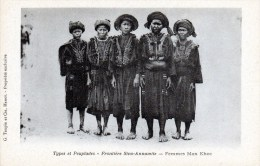 Frontière Sino-annamite -   Femmes Man Khoc - Cina
