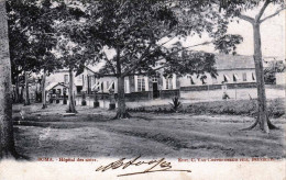 BOMA (Kongo) Hopital De Noirs - Karte Gel.1905 - Congo Belge - Autres