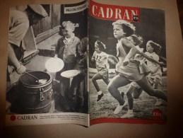1945 CADRAN : Journal Clandestin Imprimé Par Les Services Britaniques Et Distribué Secrêtement En France - Riviste & Giornali