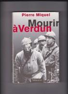 MOURIR A VERDUN De PIERRE MIQUEL - French