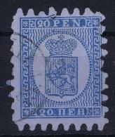 Finland / Suomi 1860 Yv.nr. 8 Mi.nr. 8b  Used