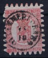 Finland / Suomi 1860 Yv.nr. 9 Mi.nr. 9  Used