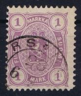 Finland / Suomi 1875 Yv.nr. 18  Mi.nr. 19B Used  Perfo 12.50