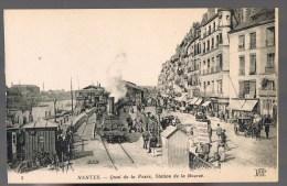 NANTES . Quai De La Fosse , Station De La Bourse . - Nantes